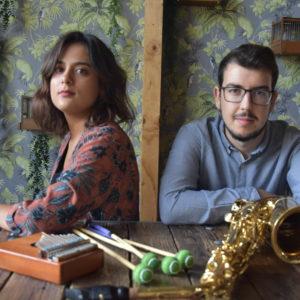 2AZ1 - Saxophone and percussion